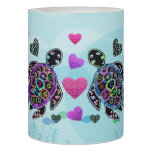 Sea Turtle Love Flameless Candle