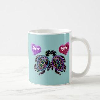 Sea Turtle Love Song Classic White Coffee Mug