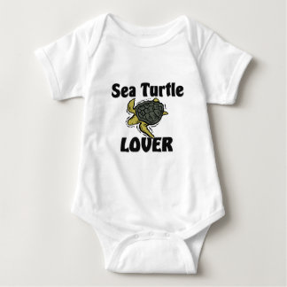 Sea Turtle Lover Baby Bodysuit