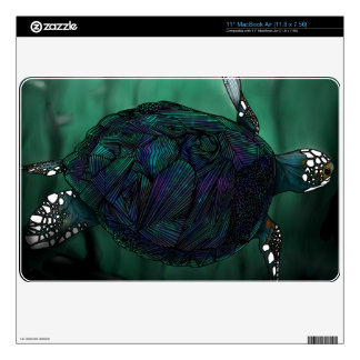 Sea Turtle MacBook Skin