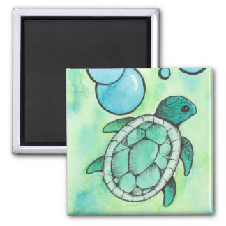 Sea Turtle Refrigerator Magnets