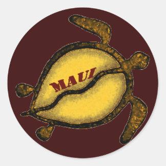 Sea Turtle Maui Stickers
