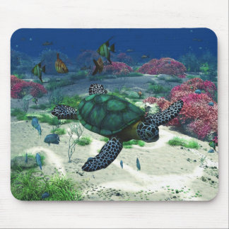 Sea Turtle Mouse Pad