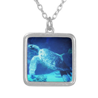 Sea Turtle Personalized Necklace