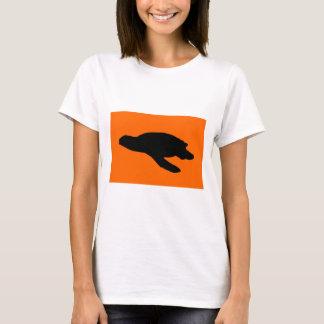 Sea Turtle Nesting Flag T-Shirt