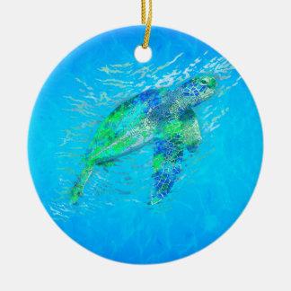 Sea Turtle Christmas Ornaments