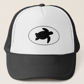 Sea Turtle Oval Logo Trucker Hat