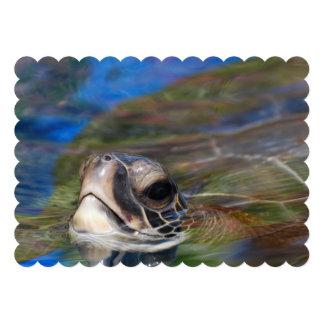 Sea Turtle Personalized Invites