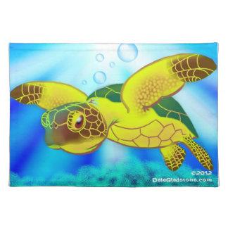 Sea Turtle Place Mat Cloth Placemat