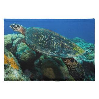 Sea Turtle Placemat Cloth Place Mat
