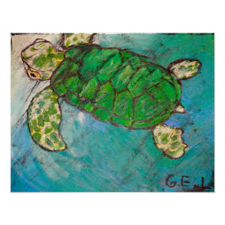 Sea Turtle Posters