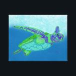 "Sea Turtle Print<br><div class=""desc"">Sea Turtle Print by artist,  Jan Chalif</div>"