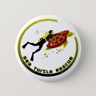 Sea Turtle Rescue Button