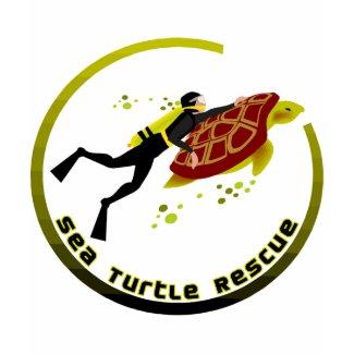 Sea Turtle Rescue zazzle_shirt