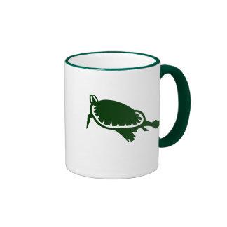 Sea Turtle Ringer Mug