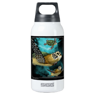 Sea Turtle Sea Life Conservation Insulated Water Bottle