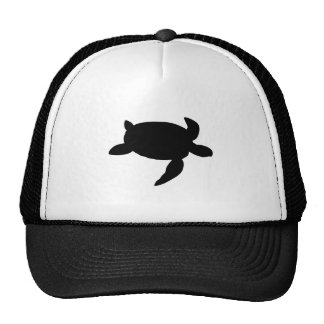 Sea Turtle Silhouette Trucker Hat