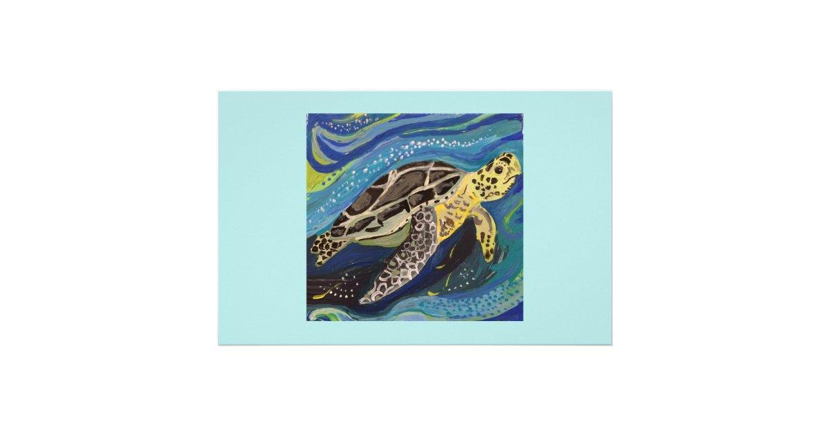 Sea Turtle Stationery Zazzle Com