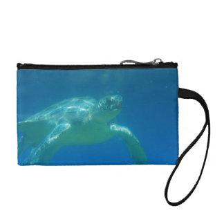 Sea Turtle Swim Coin Purse