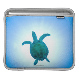 Sea turtle swimming underwater sleeve for iPads