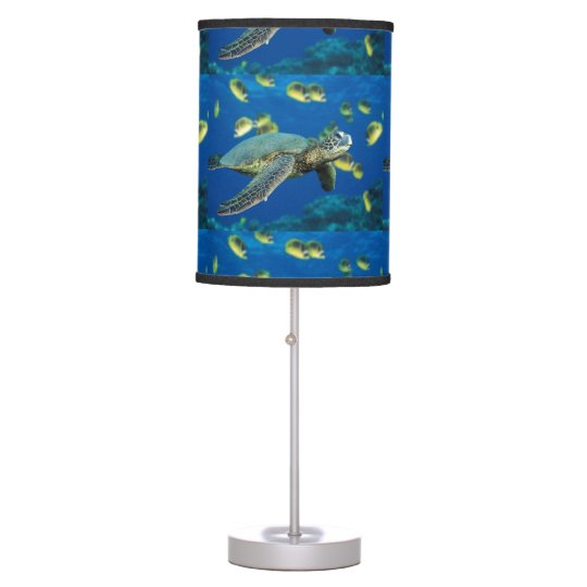 Sea Turtle Table Lamp Zazzle Com