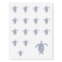 Sea Turtle Temporary Tattoos