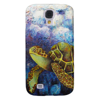 Sea Turtle, Texture Art Products Samsung Galaxy S4 Case