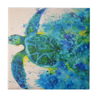 sea turtle tile