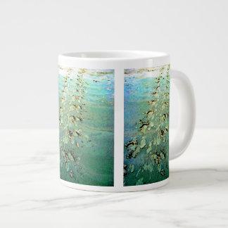 """""""Sea Turtle Tracks"""" Jumbo Mugs"""