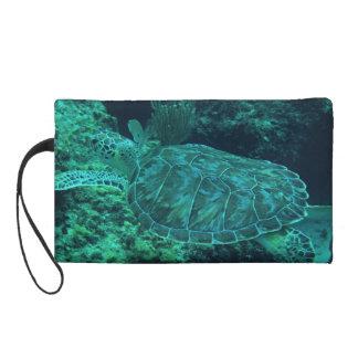 Sea Turtle Wristlet