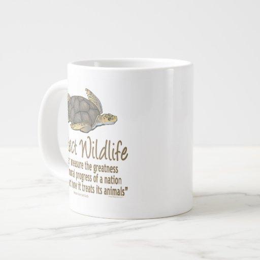 Sea Turtles 20 Oz Large Ceramic Coffee Mug