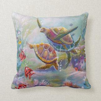 Sea Turtles American MoJo Pillow