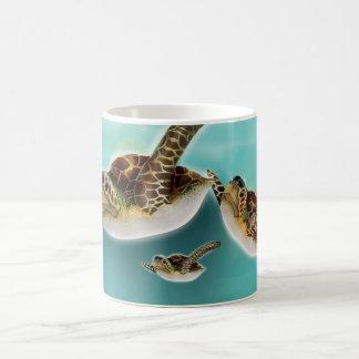 Sea Turtles art print. Coffee Mug