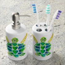 Sea Turtles Bath Set