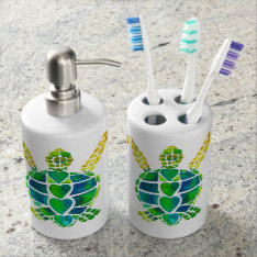 Sea Turtles Bath Set at Zazzle
