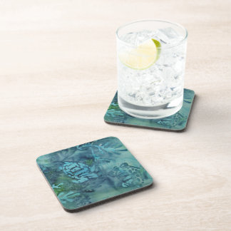 Sea Turtles Batik Beverage Coaster