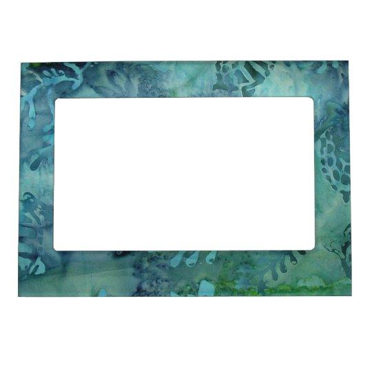 Sea Turtles Batik Magnetic Picture Frame