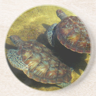 Sea Turtles Drink Coaster