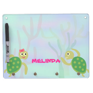 Sea Turtles Dry Erase Board