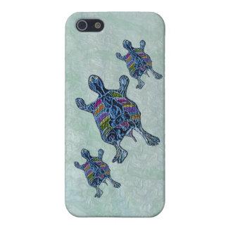 Sea Turtles Family Circle iPhone SE/5/5s Case