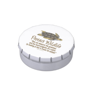 Sea Turtles Jelly Belly Candy Tin