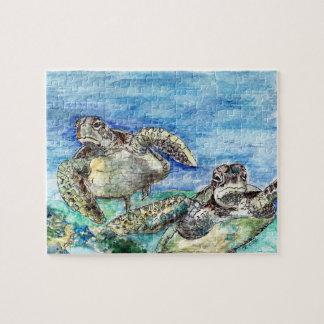 Sea Turtles Jigsaw Puzzle