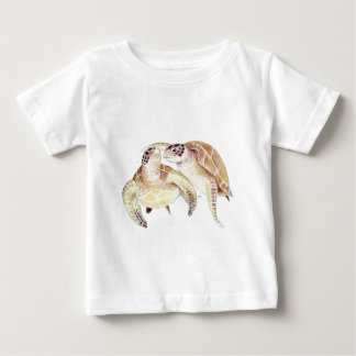 Sea Turtles Love Baby T-Shirt