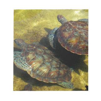 Sea Turtles Notepad
