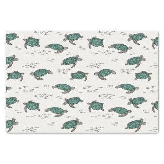 Sea Turtles Ocean Nautical Summer / Andrea Lauren Tissue Paper