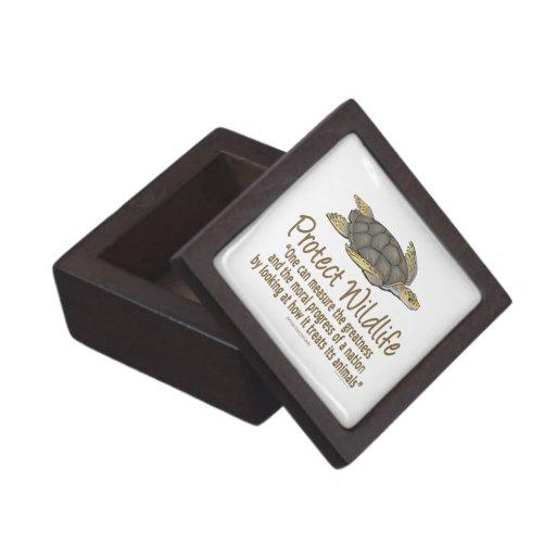 Sea Turtles Premium Jewelry Box