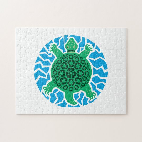 Sea Turtles, Recycling Jigsaw Puzzle