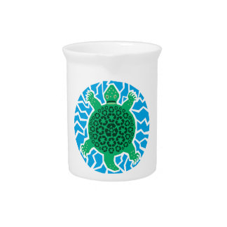 Sea Turtles, Recycling Beverage Pitcher