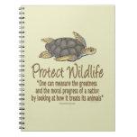 Sea Turtles Spiral Note Book