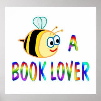Sea un aficionado a los libros - comenzando en $11 poster